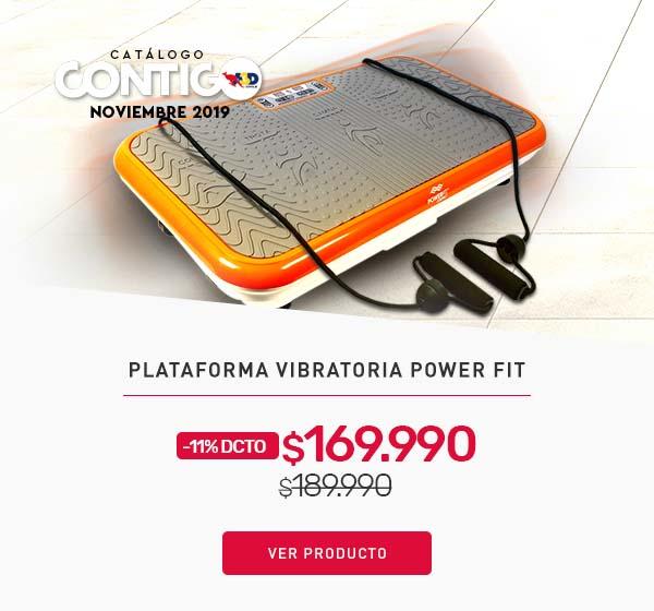 Plataforma Vibratoria Power Fit