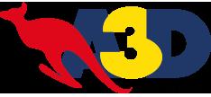 Antena 3D logo