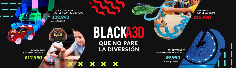 Black A3D