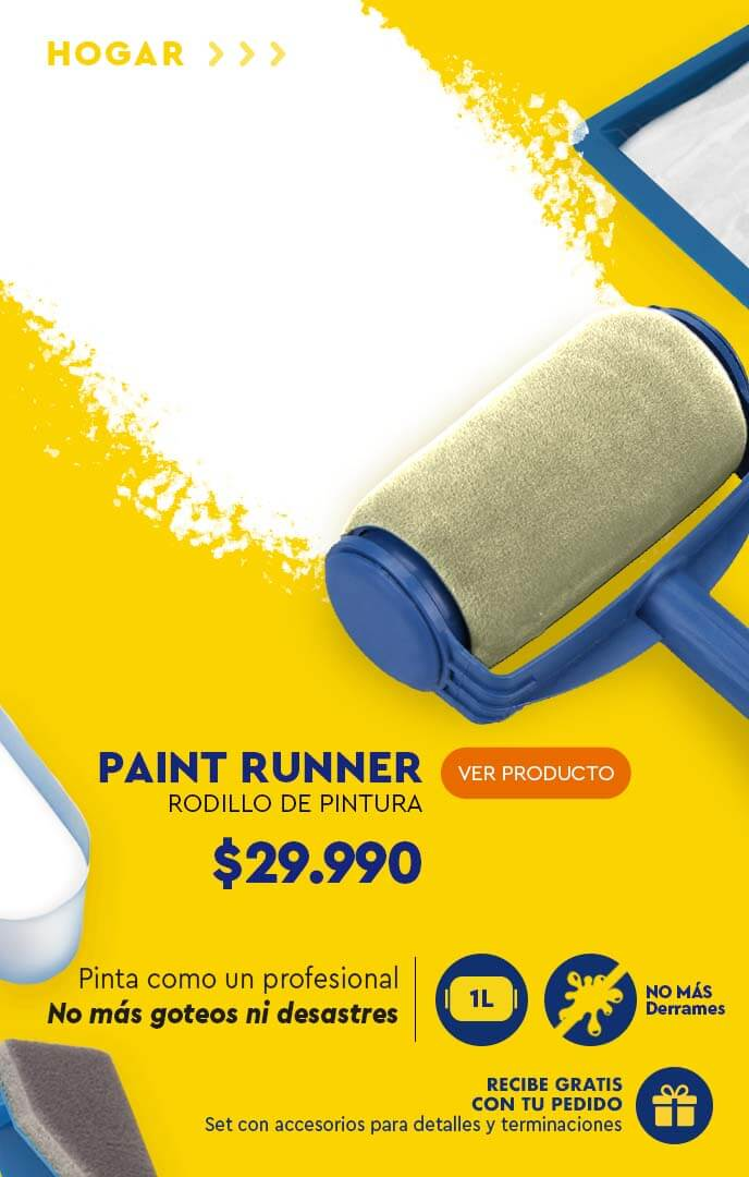 Rodillo para pintura Paint Runner