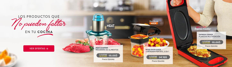 Los productos que no pueden faltar en tu Cocina