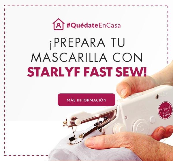Prepara tu mascarilla con Starlyf Fast Sew