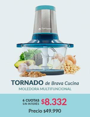 Tornado de Brava Cucina