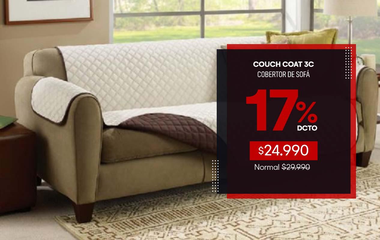 Couch Coat 3 cuerpos
