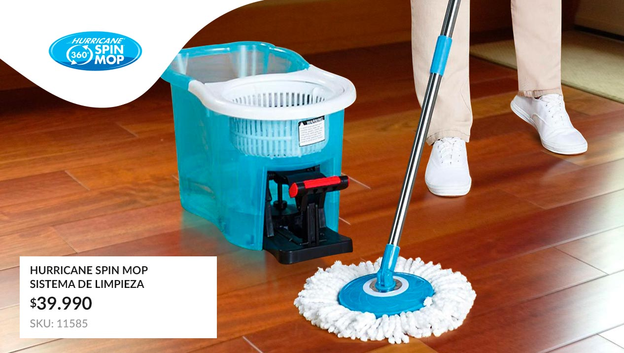 Sistema de limpieza Hurricane Spin Mop